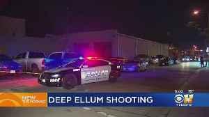 1 Person Shot Outside Deep Ellum Bar [Video]