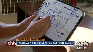 The 2 things the Olathe Fire Department says you should know for a fire escape plan [Video]