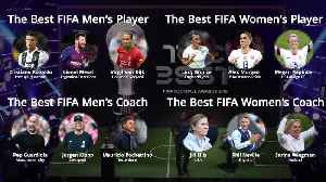 Best FIFA Football Awards: Who made the shortlist? [Video]