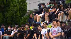 News video: Hong Kong workers, students launch strike