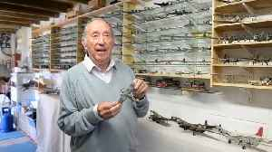 A man has built over 300 RAF plane models [Video]