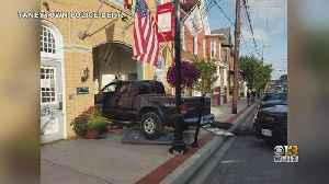 Man Facing Charges After Driving Truck Into Taneytown City Hall [Video]