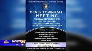Men's Town Hall Meeting at the 19th Street Community Center [Video]