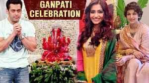 Ganesh Chaturthi 2019 | Salman, Arjun, Sonam Kapoor, Sonali Bendre Wish Fans [Video]