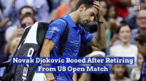 No Joke For Djokovic's Shoulder [Video]