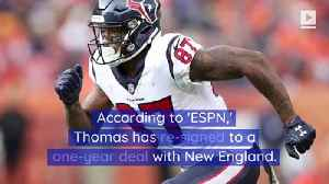 Demaryius Thomas Re-Signs With Patriots 2 Days After Release [Video]