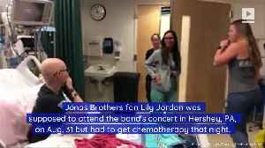 Jonas Brothers Surprise Fan Undergoing Chemotherapy [Video]