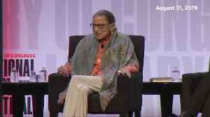 """The secret to a good marriage is to be """"a little deaf:"""" Ginsburg [Video]"""