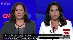 Tulsi Gabbard destroys Kamala Harris in Dem debate [Video]