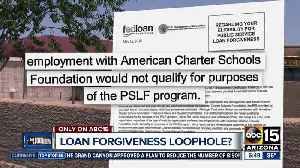 Are charter school teachers eligible for loan forgiveness? [Video]