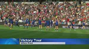 Team USA Prepares For St. Paul Victory Tour Stop [Video]