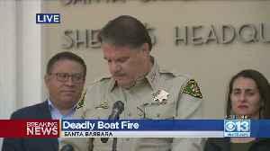Deadly Boat Fire Presser [Video]