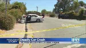 Deadly Car Crash On Del Paso Boulevard [Video]