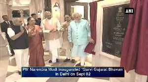 PM Modi inaugurates 'Garvi Gujarat Bhawan' in Delhi [Video]