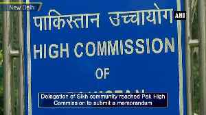 News video: Sikh delegation reaches Pak High Commission over forced religious conversions in Pakistan