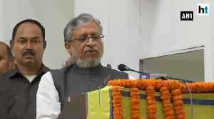 Bihar Deputy CM Sushil Modi says no drop in vehicle sales in the state [Video]