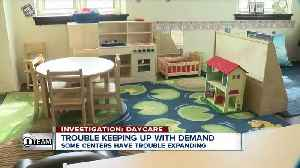 Investigation Daycare: Some providers have trouble expanding, creating inexpensive programs [Video]