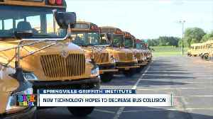 Springville-Griffith Institute receives new technology on seven new buses [Video]