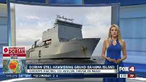 British Royal Navy ship to arrive in Bahamas with Hurricane Dorian aid [Video]