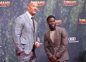 News video: Dwayne 'The Rock' Johnson Post Message of Support for Kevin Hart