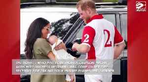 Prince Harry defends taking private jets [Video]