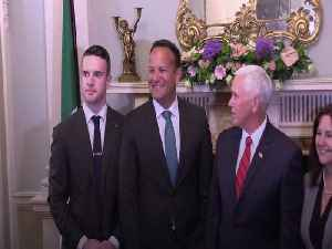 Mike Pence's full sp encourages Ireland to respect Brexit process [Video]