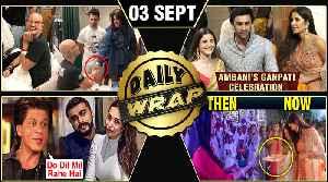 News video: Ranbir Alia At Ambani's Ganpati, Priyanka's Sweet Gesture, Arjun Kapoor Slams Tiger Hrithik