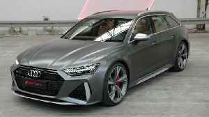 The new Audi RS 6 Avant Exterior Design [Video]