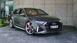 The new Audi RS 6 Exterior Design [Video]