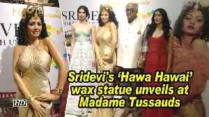 Sridevi's 'Hawa Hawai' wax statue unveils at Madame Tussauds [Video]