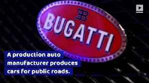 A Bugatti Breaks 300mph, Shattering the Record [Video]