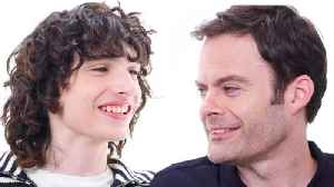 Bill Hader and Finn Wolfhard Interview Each Other [Video]