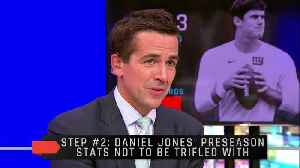 What Should The Giants Do With Daniel Jones? [Video]