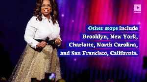Oprah Winfrey to Go on Speaking Tour Next Year [Video]