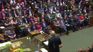 News video: A 'big girl's blouse' - UK PM Johnson taunts Corbyn on election