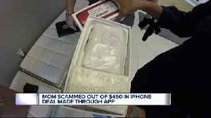Local mom buys iPhone from online seller, ends up with 2 bars of soap and loses $450 [Video]