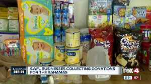 Local businesses collect donations for the Bahamas [Video]