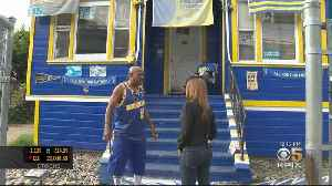 Warriors Superfan's Home A Shrine To All Things Golden State [Video]