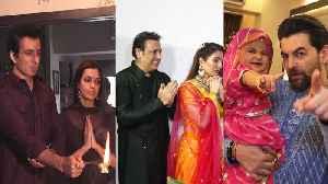 Salman Khan, Govinda, Sonu Sood celebrate Ganesh Chaturthi [Video]