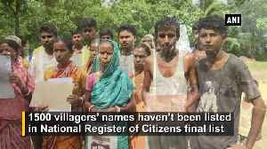 1,500 villagers of Assam's Maloibari excluded from NRC list [Video]