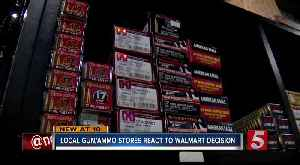 Local gun ranges react to Walmart ammunition decision [Video]