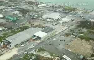 Aerial footage reveals Bahamas storm zone [Video]