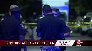 Stabbing investigation under way in East Boston [Video]