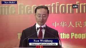 Affairs of Hong Kong purely China's internal matter Chinese Ambassador to India [Video]