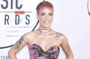 Halsey helped by music [Video]