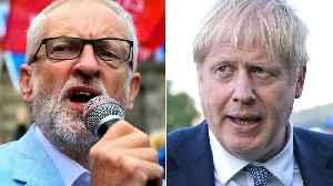 UK's Jeremy Corbyn and Boris Johnson clash over no-deal Brexit [Video]