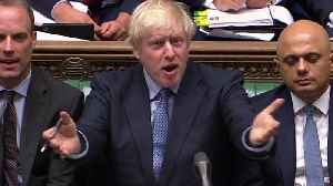 Boris Johnson calls Jeremy Corbyn a 'big girl's blouse' [Video]