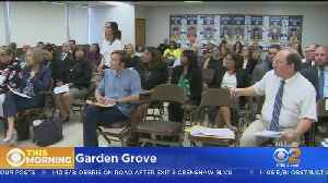 Parents Pack Meeting To Sound Off On Garden Grove High School Nazi Video [Video]