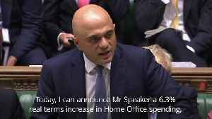 Chancellor Sajid Javid sets out Government's spending plans as election looms [Video]