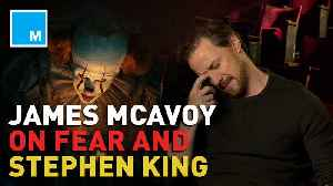 James McAvoy puts his Stephen King knowledge to the test [Video]